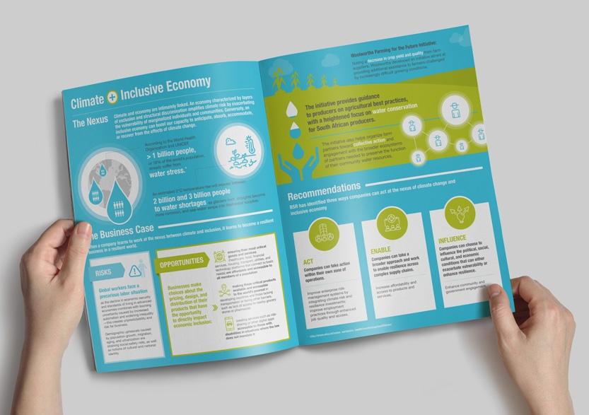 Inclusive Economy infographic