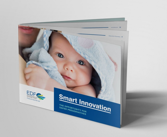 EDF Preservative Innovation Project Report Cover