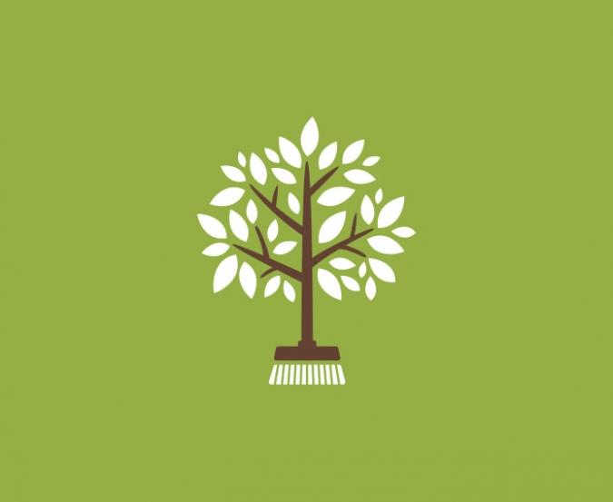 Green Maids logo